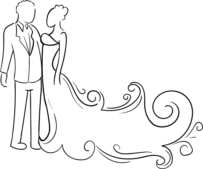 699 X 582 15 - Welcome To Our Wedding Png Clipart (699x582), Png Download