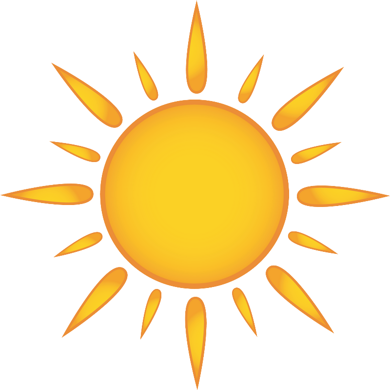 Download Sun Rays Clipart - Cartoon Sun - Png Download Png ...