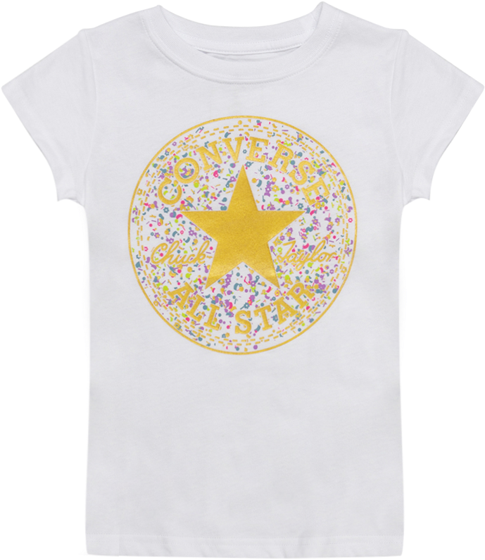 Birthday Confetti Converse - Active Shirt Clipart (1200x1200), Png Download
