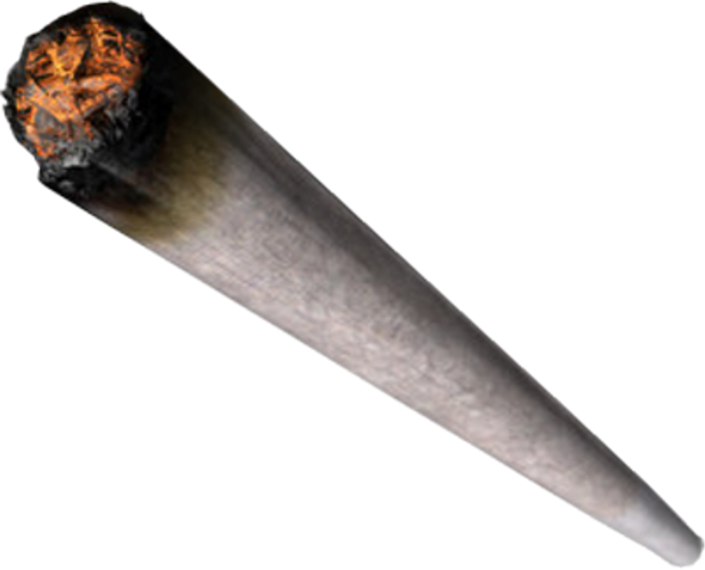 Weed Joint Png For Kids - Sticker De Porro Clipart (1024x829), Png Download