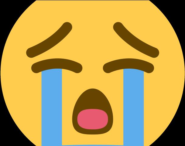 Crying Emoji Clipart Face Emoji - Sad Cry Emoji ...