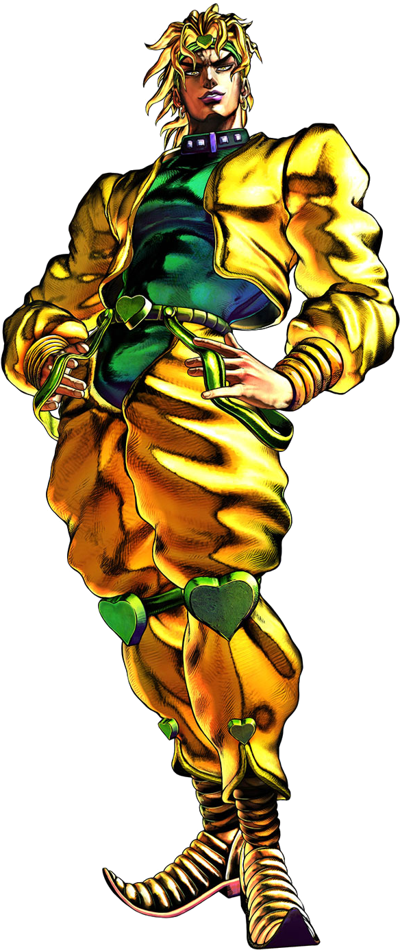 Download Dio Png - Dio Jojo Part 3 Clipart Png Download ...