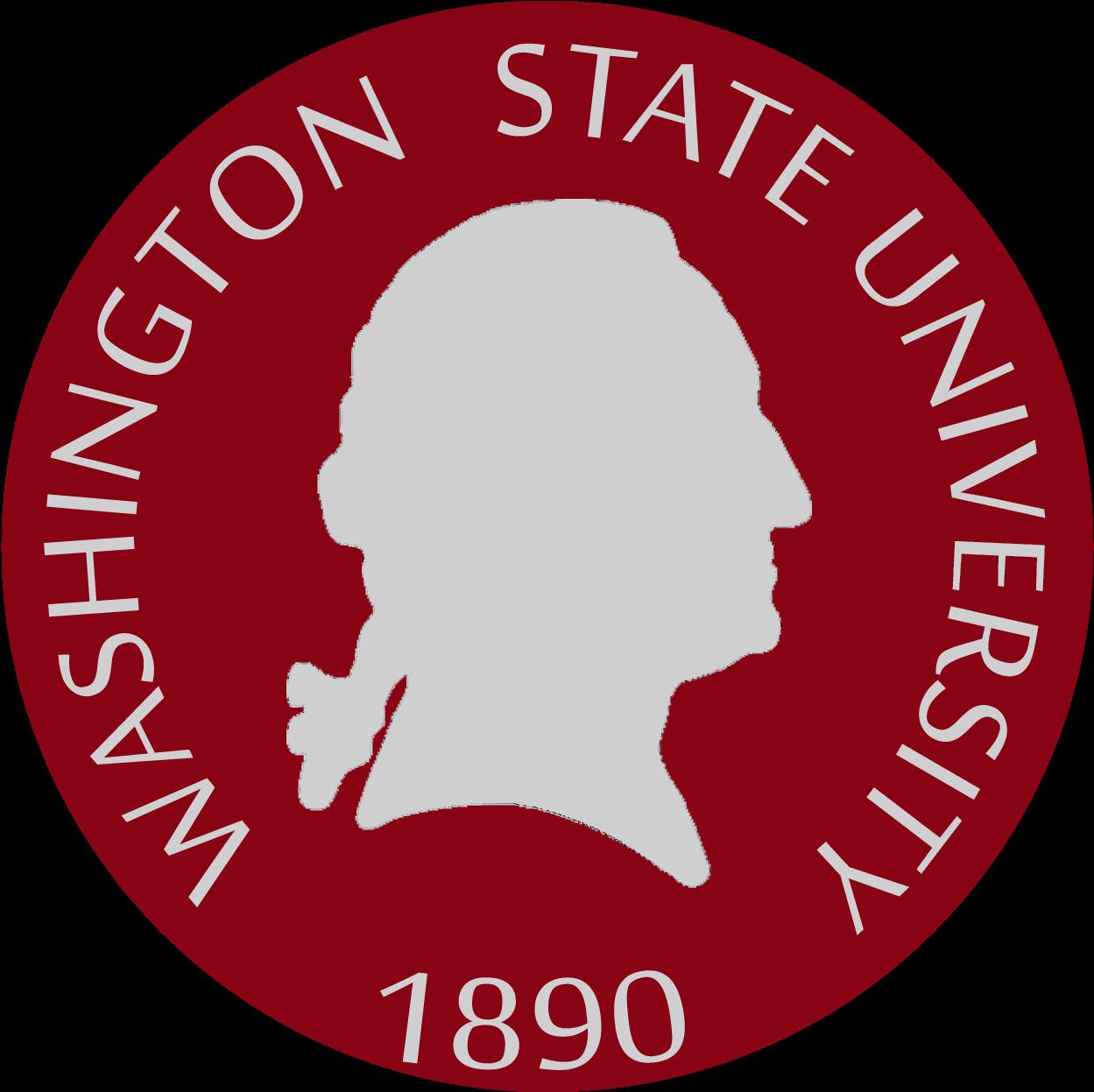 Washington State Png - Washington State University Seal Clipart (1296x1296), Png Download