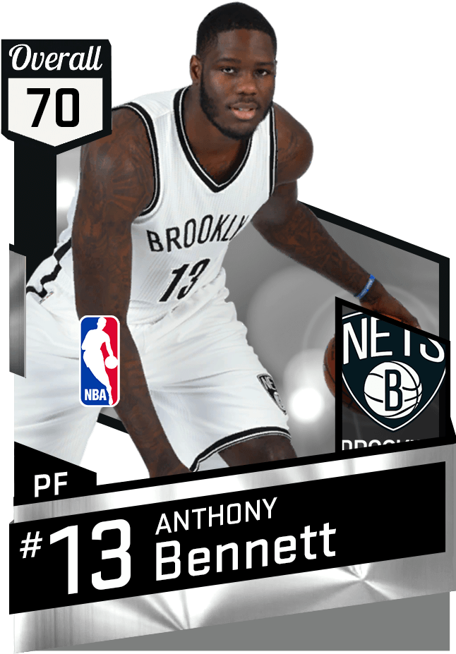 Anthony Bennett Nba 2k17 , Png Download - Dwight Howard ...