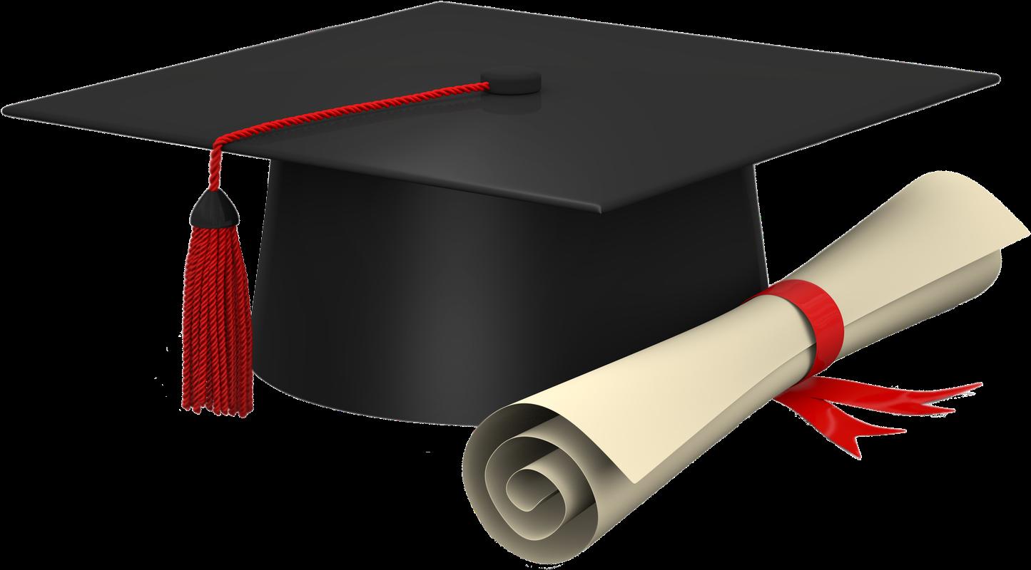Download Graduation Cap And Scroll Clip Art To Print ...