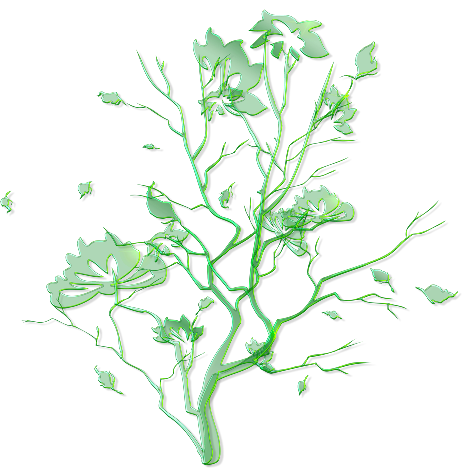 Green Floral Ornament Png Clipart Gallery Yopriceville - Clip Art Transparent Png (959x1002), Png Download
