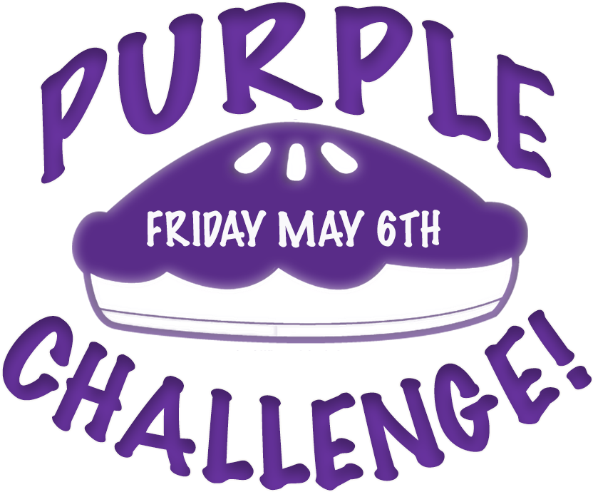 Relay For Life Purple Pie Challenge - Poster Clipart (900x900), Png Download