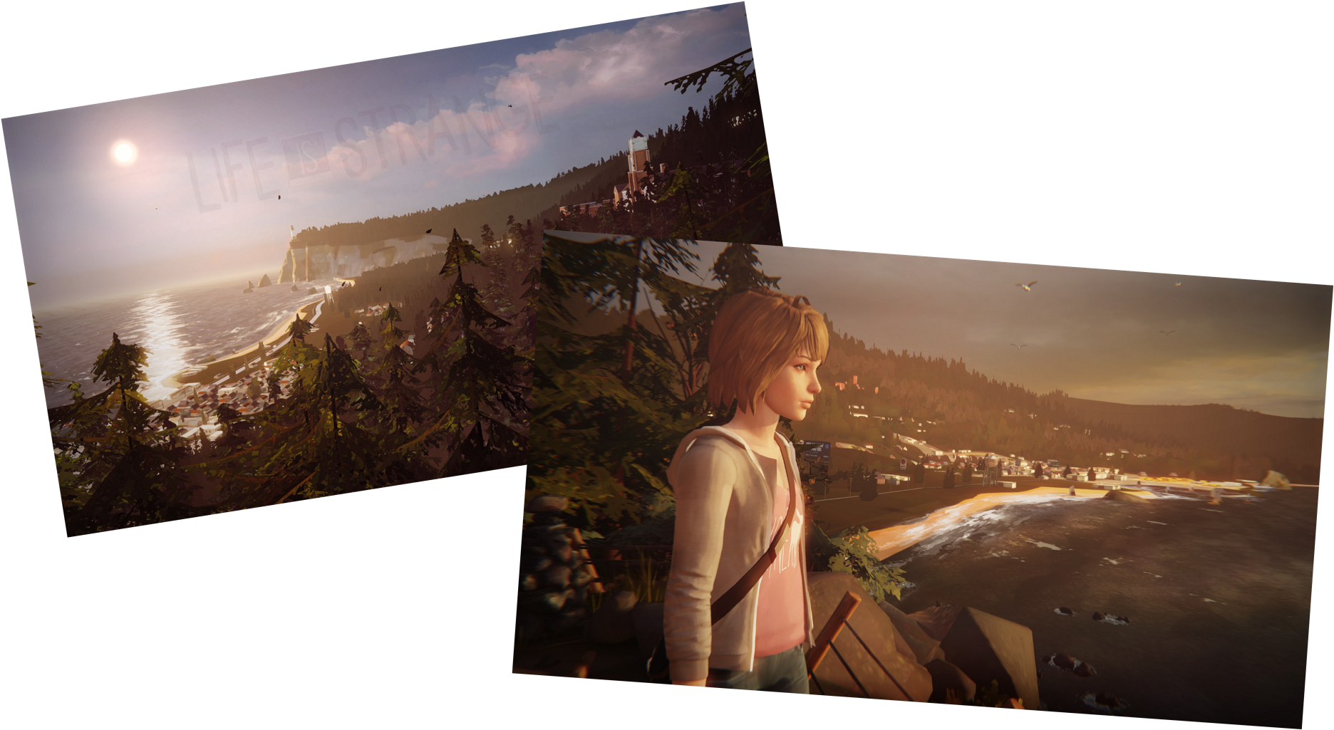 Life Is Strange Png - Painting Clipart (1920x1080), Png Download
