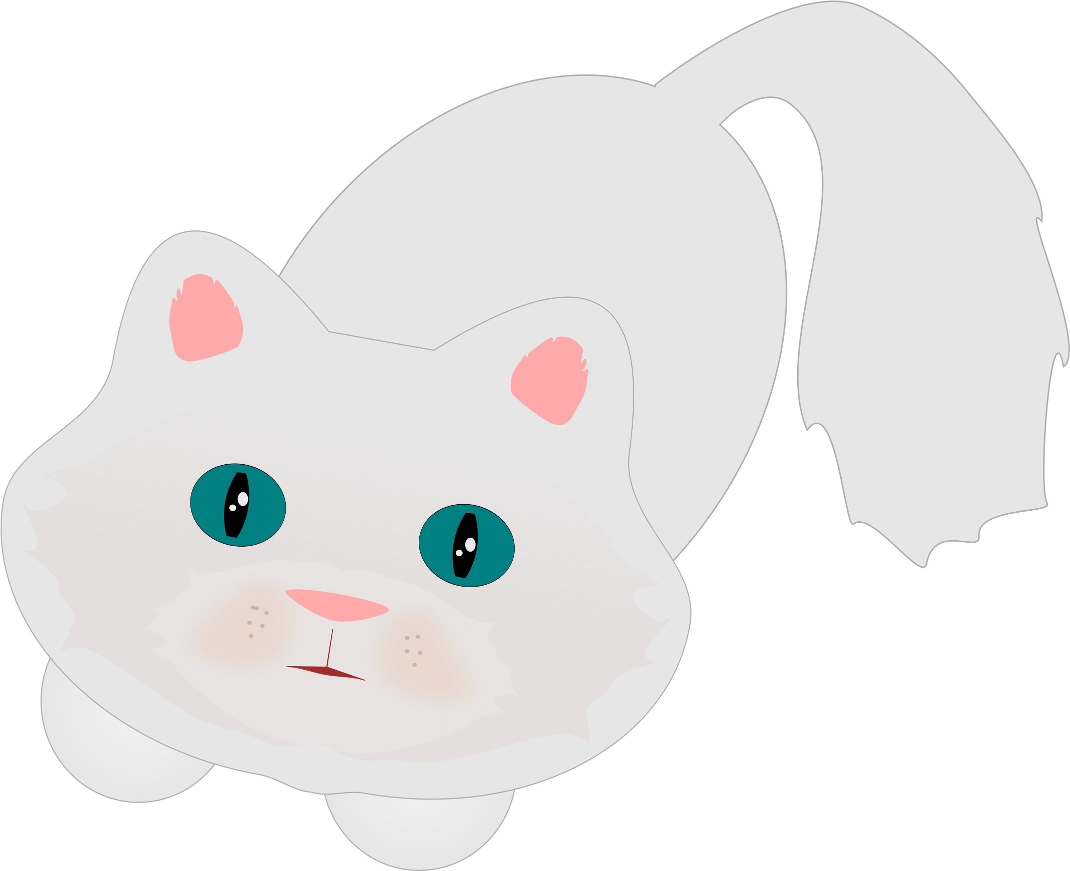 This Free Icons Png Design Of Cute Fluffy Cat Clipart Large Size Png Image Pikpng