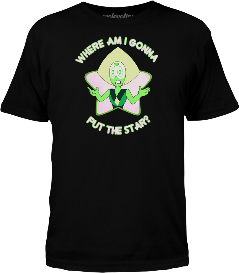 Steven Universe Star Conundrums - T-shirt Clipart (1000x1000), Png Download