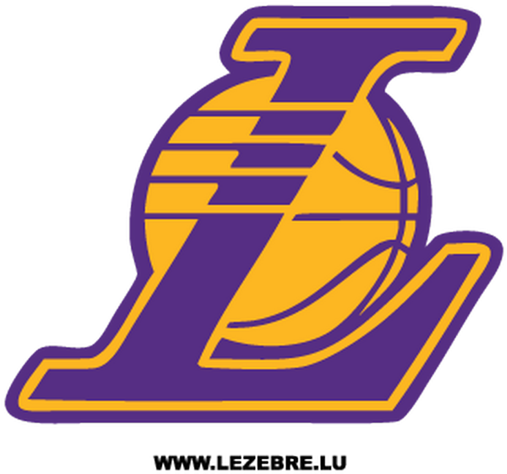 Los Angeles Lakers Logo Decal - Los Angeles Lakers L Logo ...