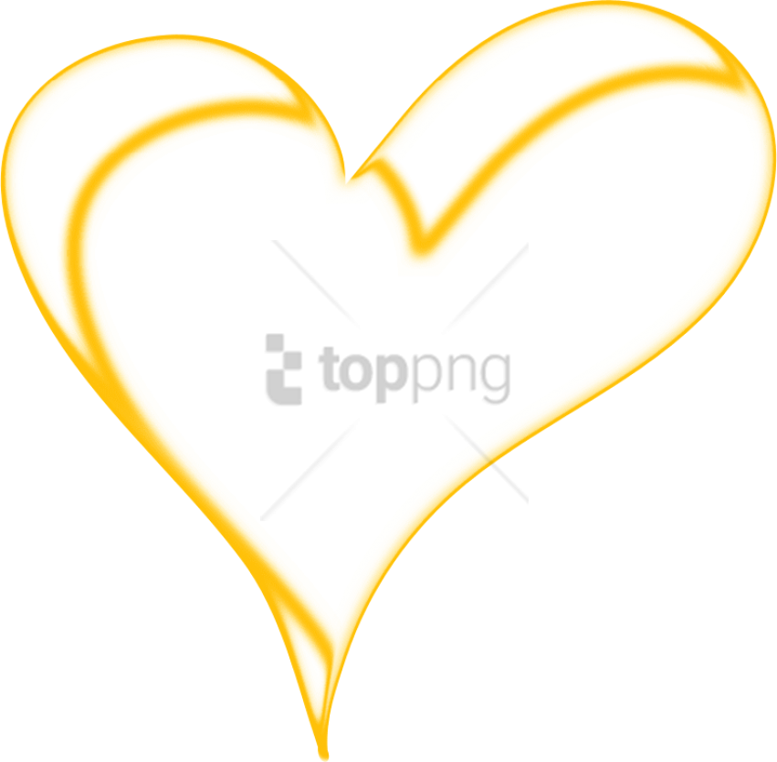 Free Png Gold Line Clip Art Png Image With Transparent - Icon Png Love Gold (851x835), Png Download