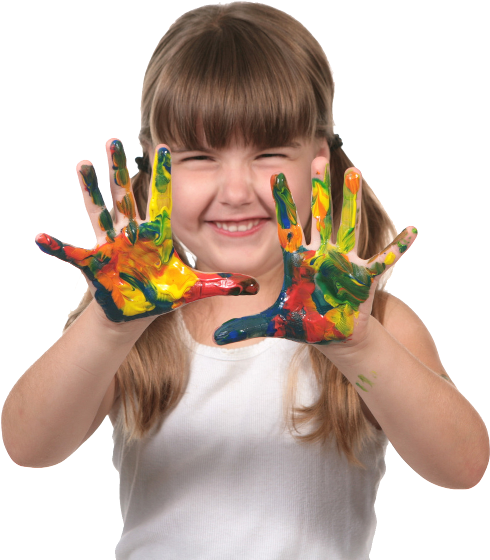 Kid Painting Transparent Background Clipart - Large Size ...