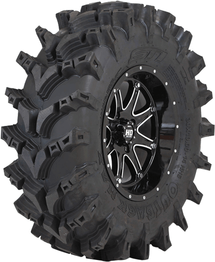 Atv/utv Tires - Outback Max Tires Clipart (900x900), Png Download