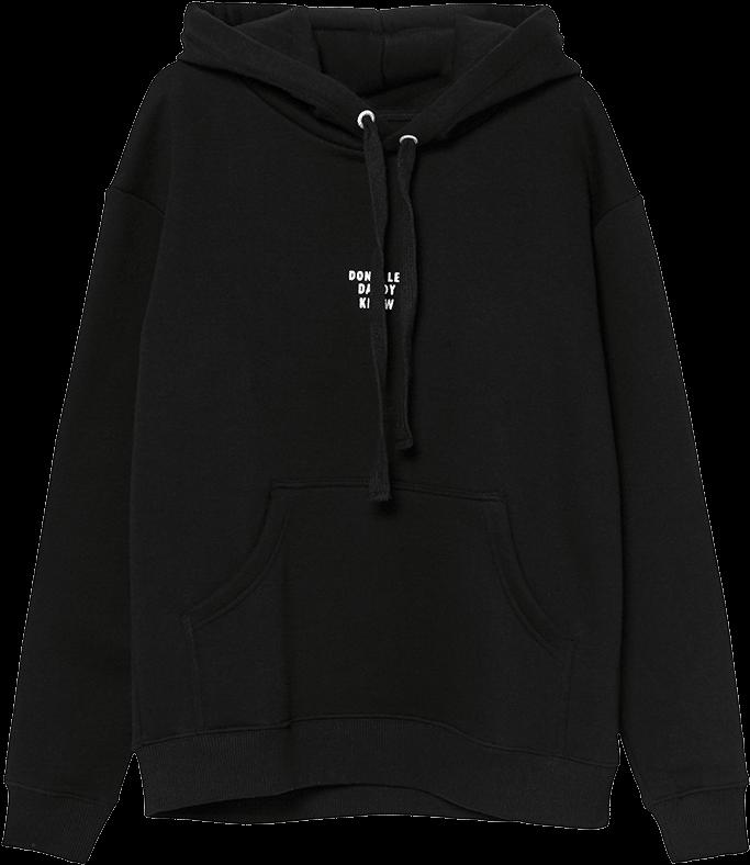 Download Hoodie, Tshirt, Jacket, Hood, Black Png Image ...