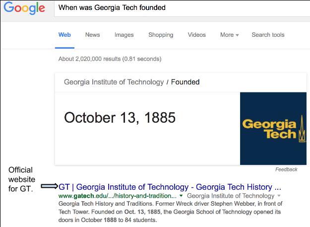 Georgia tech essay