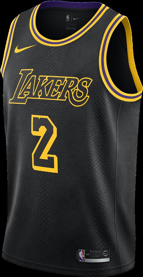 Lonzo Ball City Edition Swingman Jersey Men's Nike - Lakers Jersey ...