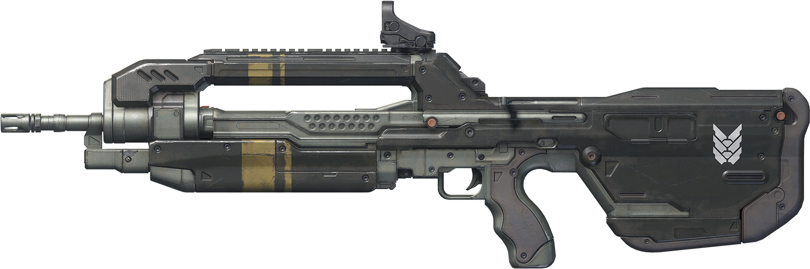 Br85 - Halo 5 Battle Rifle Png Clipart (1680x580), Png Download
