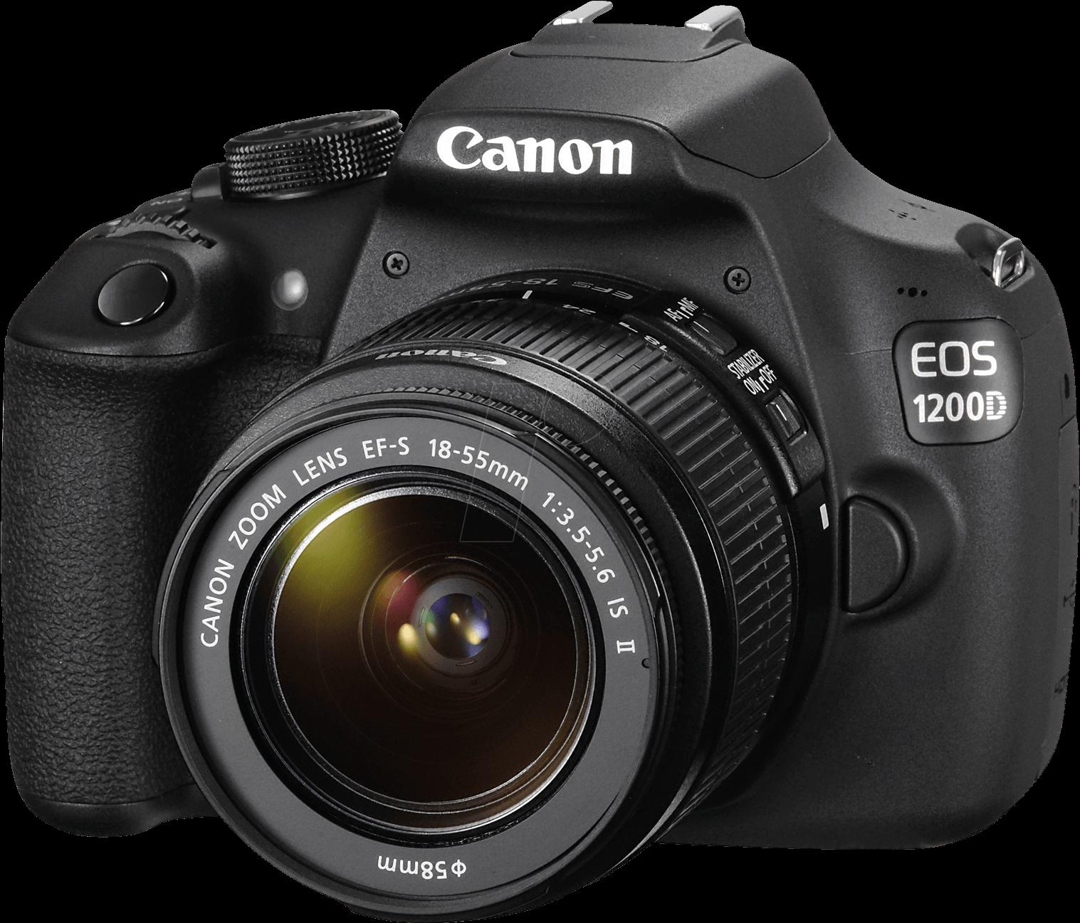 Canon Dslr Png - Canon Eos 1300d Dslr Clipart - Large Size ... (1517 x 1297 Pixel)