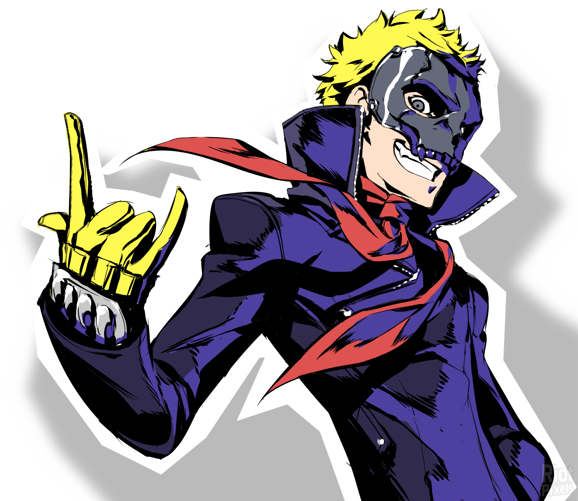 Persona 5 Clipart - Large Size Png Image - PikPng