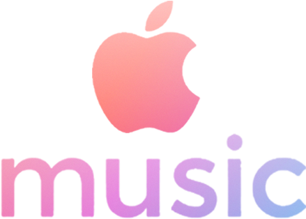Apple Music Logo - Apple Music Logo Pink Clipart - Large ...