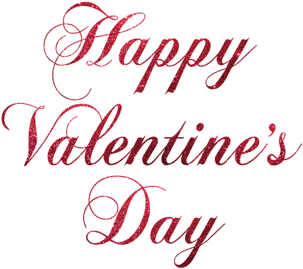 Happy Valentines Day Simple Clipart (640x640), Png Download