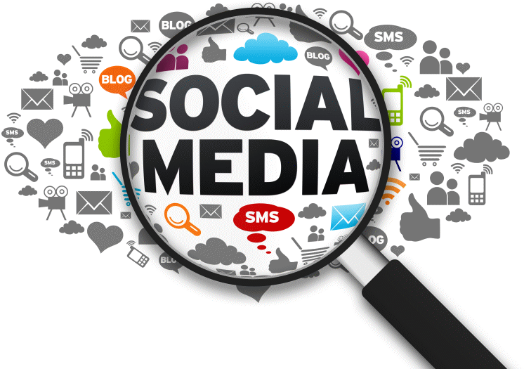 Social Media Websites Are Here To Stay - Social Media Clipart (792x594), Png Download