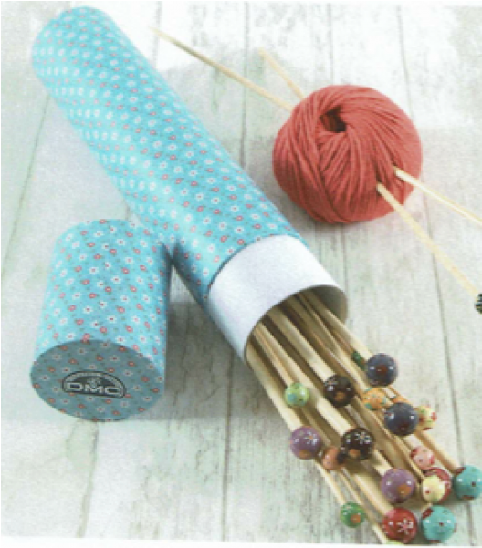 Dmc Flower Storage Tubes For Knitting Needles - Woven Fabric Clipart (800x600), Png Download