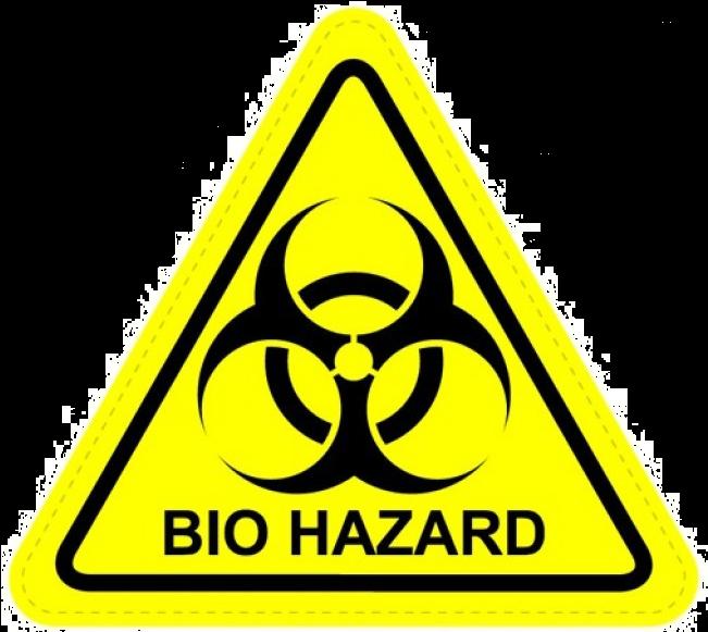 Biohazard Png Transparent Image - Biohazard Symbol Clipart (650x800), Png Download