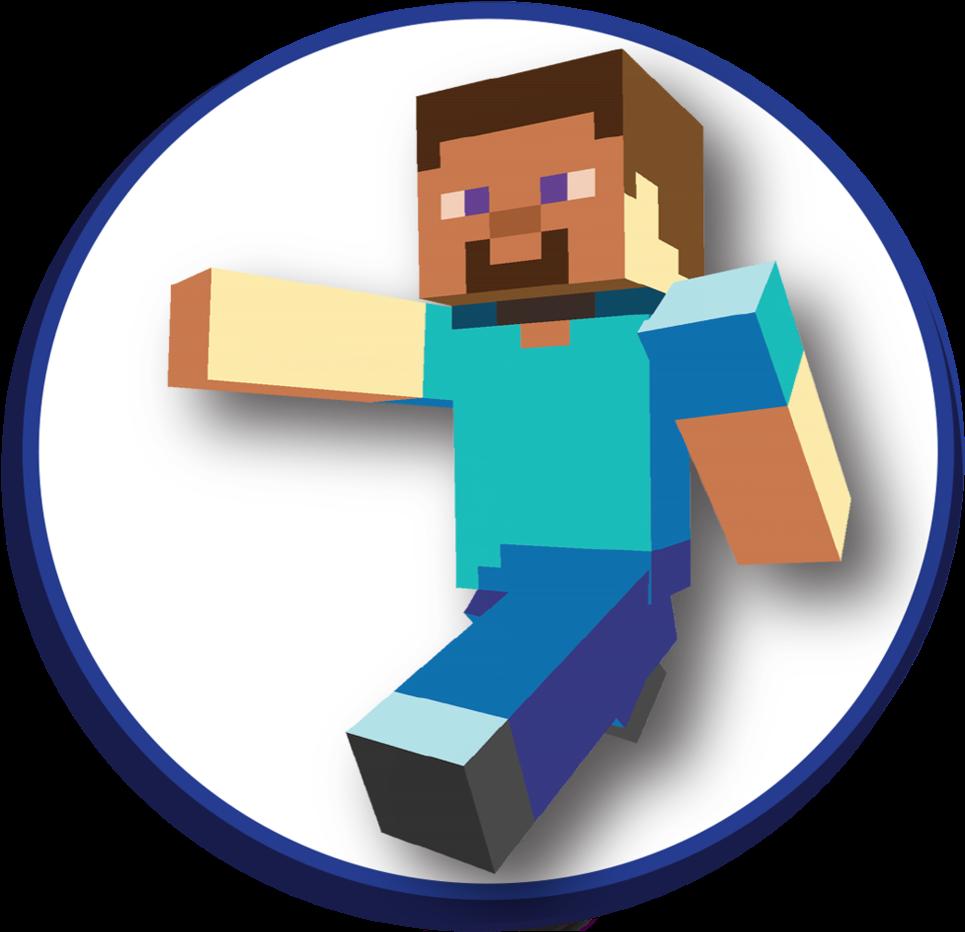 Bonecos Do Minecraft Em Png Png Download Do Steve Png