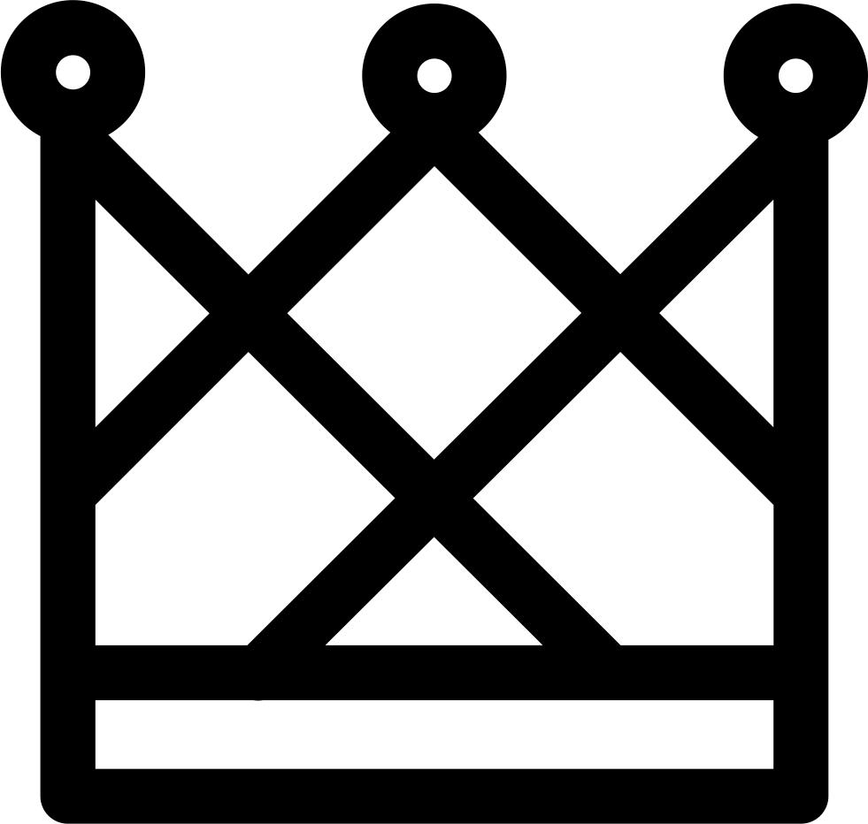 Royal Male Elegant Crown Svg Png Icon Free Download - Simbolo De Las Valkirias Clipart (981x932), Png Download