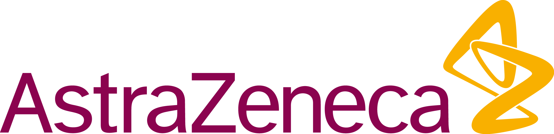 Astrazeneca Vector Png - Astrazeneca Logo Png Clipart (2286x554), Png Download