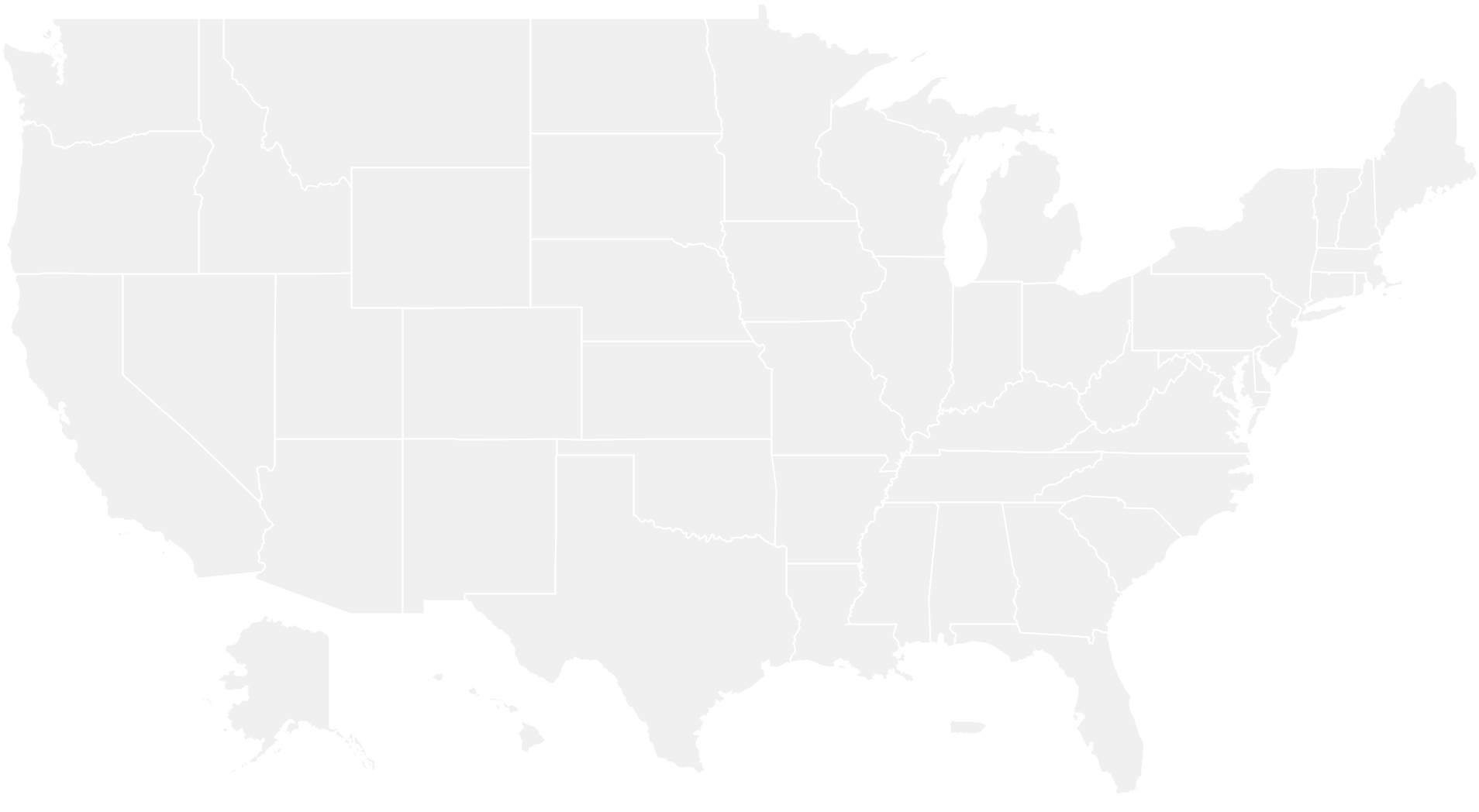 United States Map Us Map With Cities Us Map Black - United ...