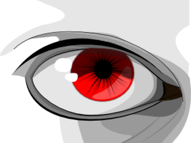 Red Eyes Clipart Angry - Eye Clip Art - Png Download ...