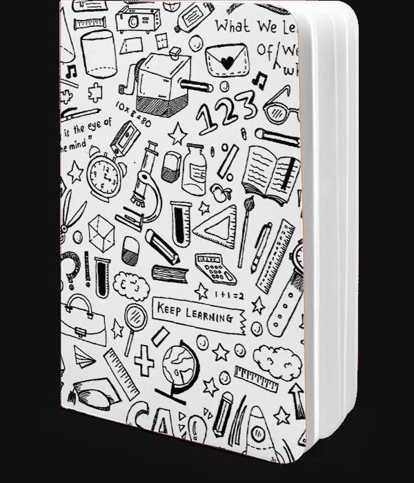 Dailyobjects School Doodles A5 Notebook Plain Buy Online ...