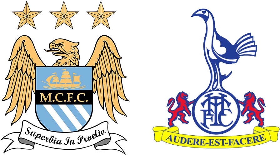 Mcfc Versus Spurs Tottenham Hotspur Badge History Clipart Large Size Png Image Pikpng