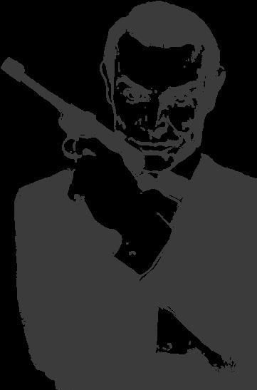 James Bond Clipart Hitman James Bond Cartoon Png