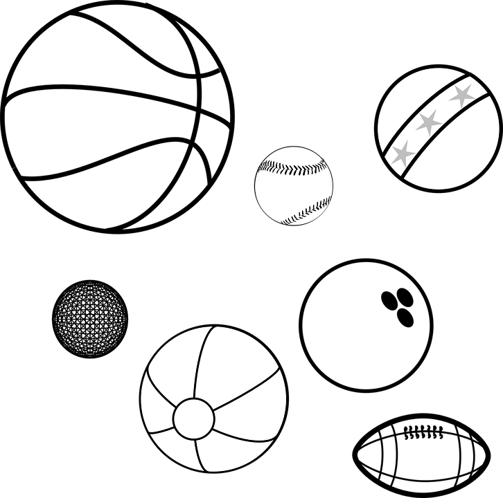 Balls Sports Balls Game Balls Basketball Baseball Coloring Picture Of Balls Clipart Large Size Png Image Pikpng