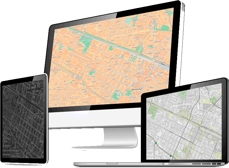 Let Us Help Your Business Embrace A Location Aware - Flat Panel Display Clipart (802x572), Png Download