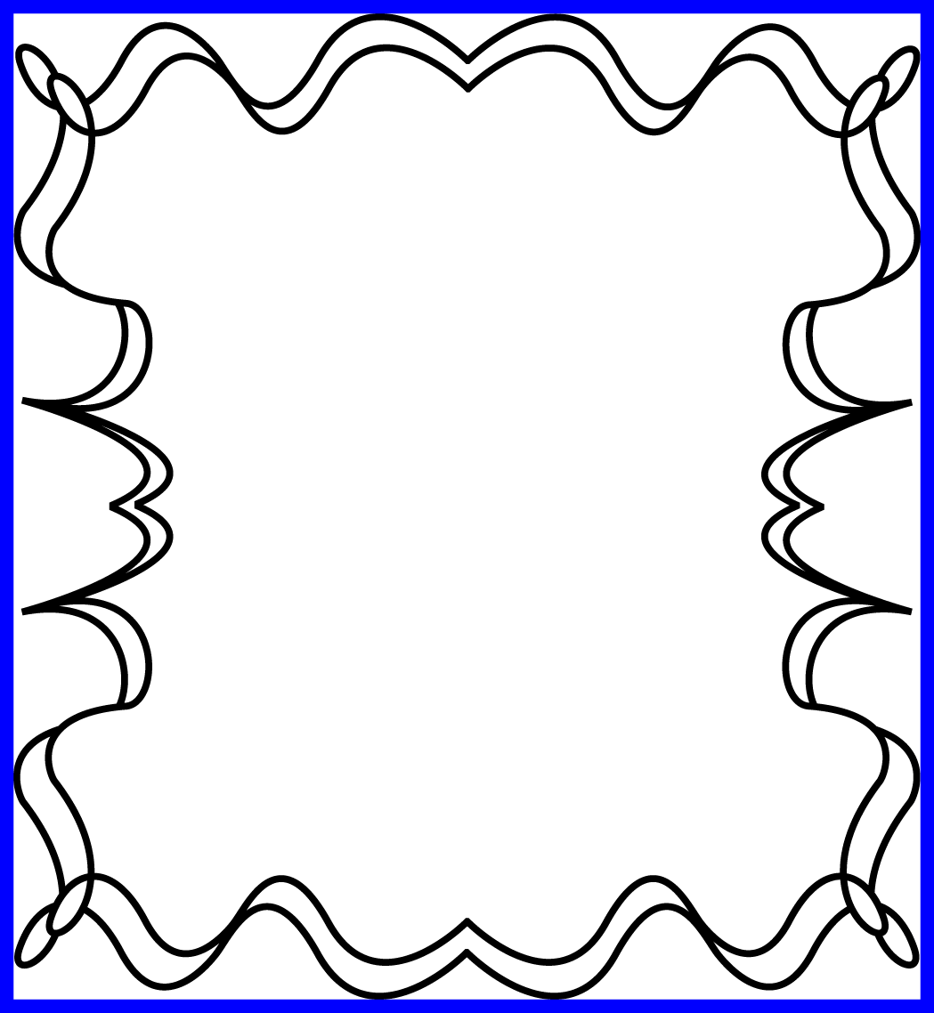 16 Ideas Of Star Clipart Black And White Outline - Border Picture Frame Halloween - Png Download (1049x1138), Png Download