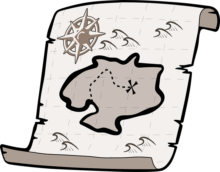 Us Map Clip Art - Free Clip Art Map - Png Download (800x624), Png Download