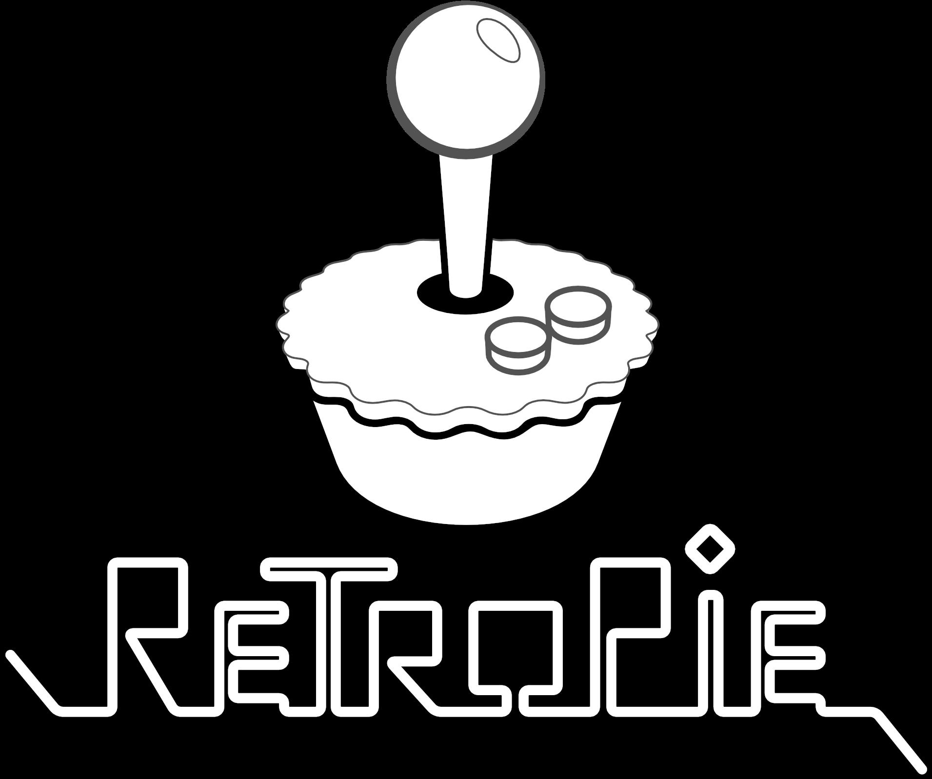 Logo Mod Bwa Copy-Retropie Logo黑白剪贴画(2040x2040),Png下载