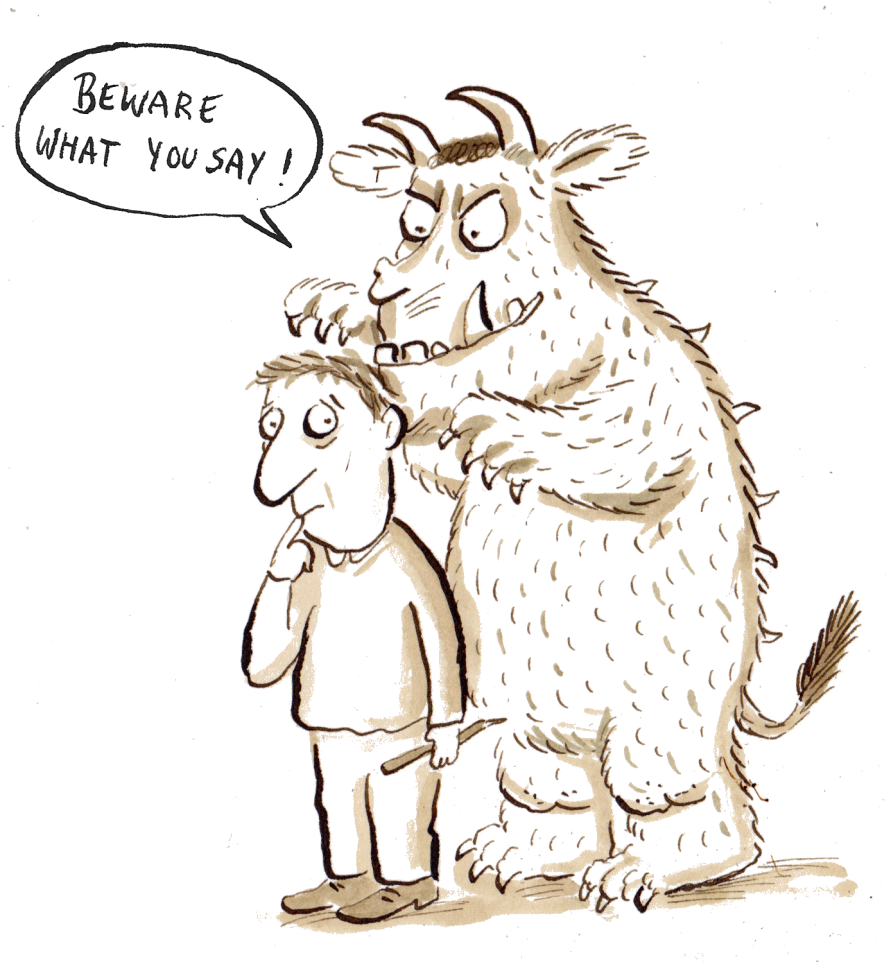 Gruffalo Colouring Pages To Print Axel Scheffler S Cartoon Clipart Large Size Png Image Pikpng