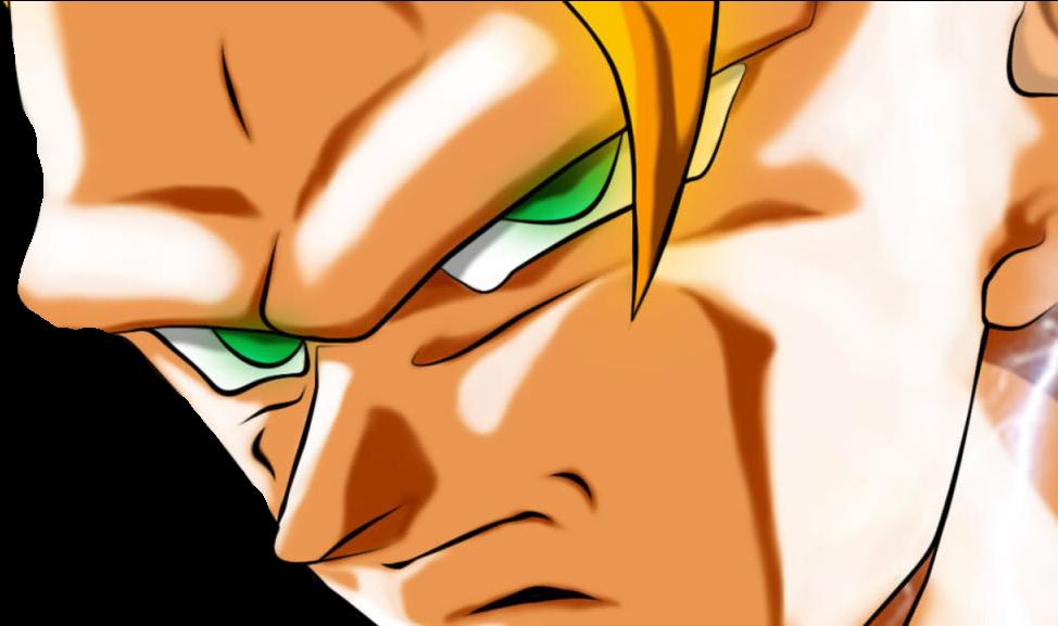 Goku Ssj3 Face , Png Download - Goku Ssj3 Face Clipart (974x577), Png Download