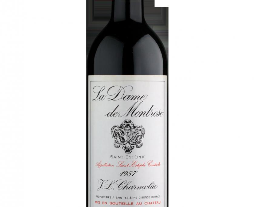 Dame De Montrose 1987 - Glass Bottle Clipart (845x684), Png Download