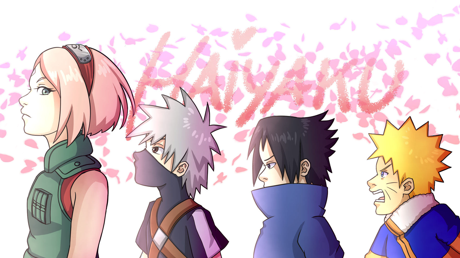456 4567744 haruno kakashi naruto sakura sasuke team7 uchiha cartoon