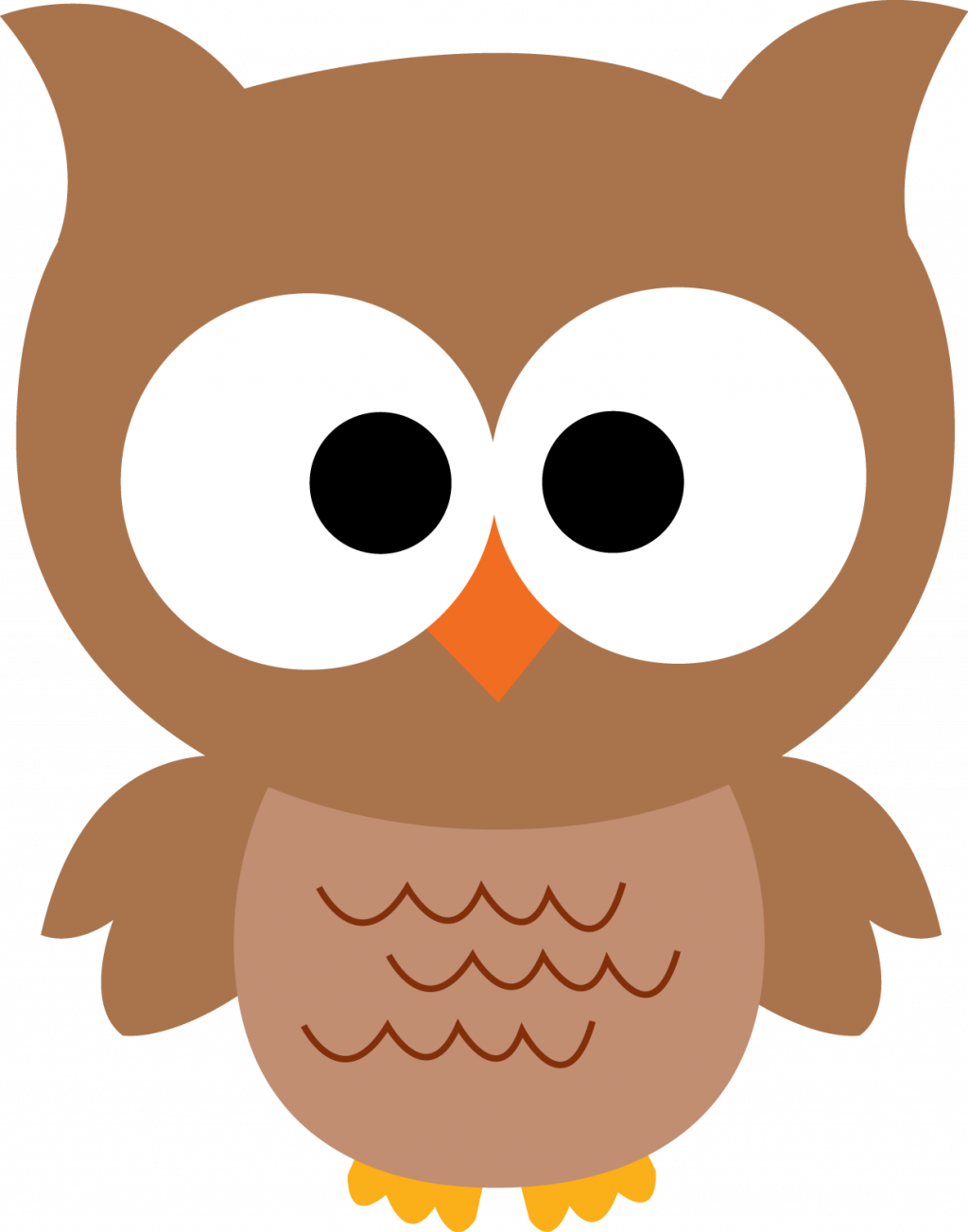 Coloring Pages Owl Pictures Cartoon Barn Clipart Free - Owl Clipart - Png Download (1024x1303), Png Download