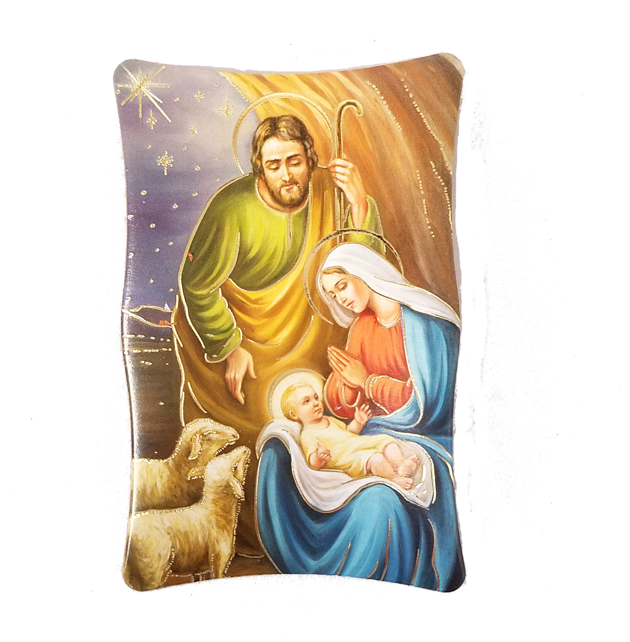 Holy Family Christmas Plaque - Cushion Clipart - Large ... (1257 x 1281 Pixel)