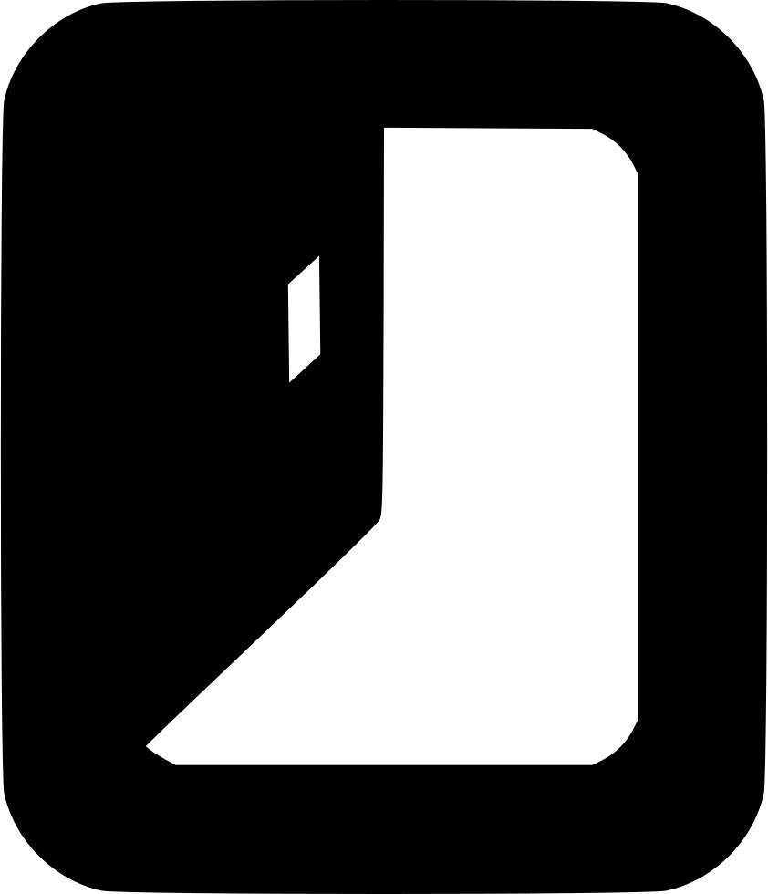 Door Enter Login Log In Sign In Comments Clipart (842x980), Png Download