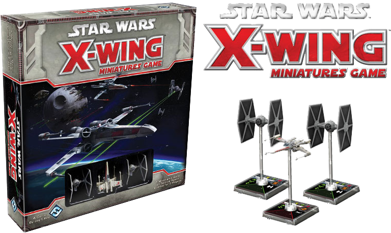X-wing - Star Wars X Wing Base Game Clipart (800x500), Png Download